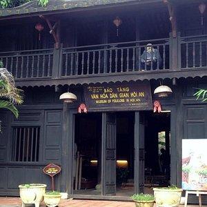 Bach Dang 通り側の入り口