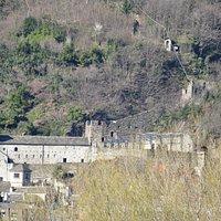 Castello di Vognna (Verbania) taken from the Autostrada