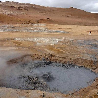 Namafjall boiling mud pot