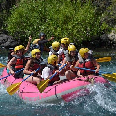 Rafting en Río Chimehuín- Junín de los Andes 2013.