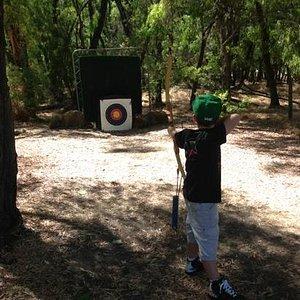 archery close to busselton- great fun