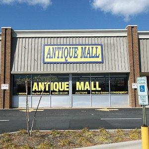 Antique mall entrance