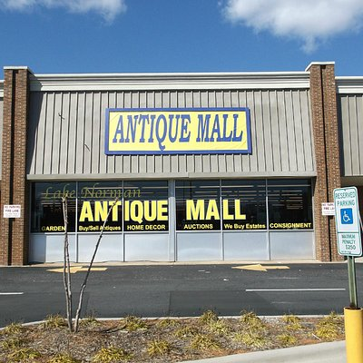 Antique mall entrance