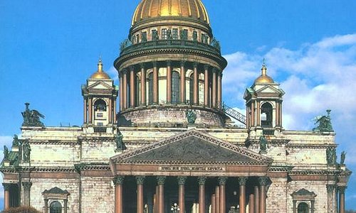 Provided by Isaakievskiy Cathedral