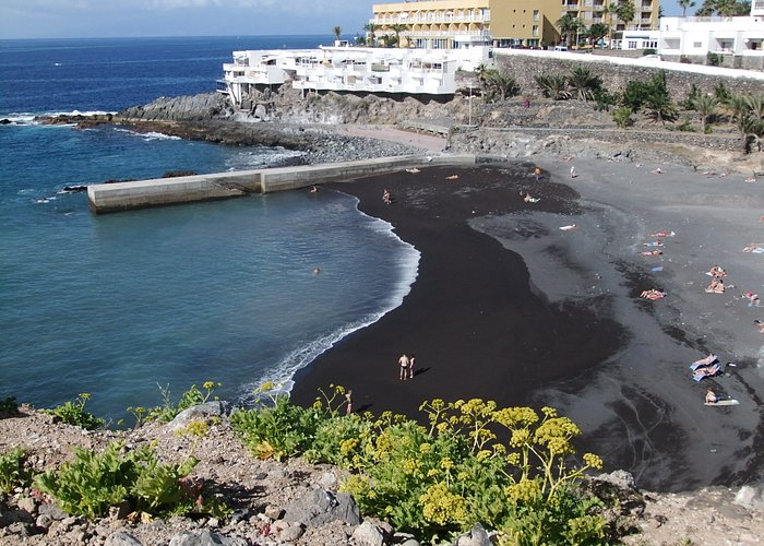 Playa de Ajabo von oben