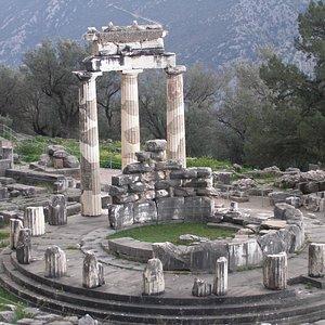 Delphi - Tholos Pronaia