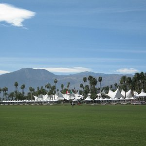 Empire Polo Club from Across the Field