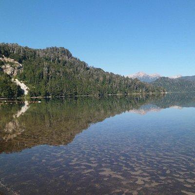 Balneario Lago Espejo Grande- Villa La Angostura 2013.