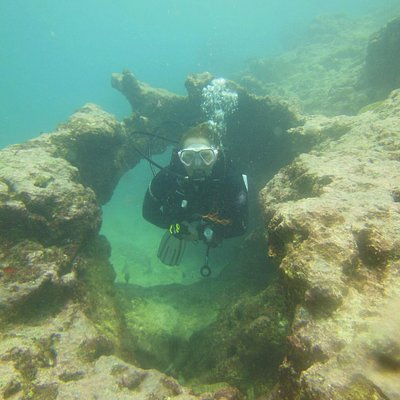 Beautiful diving in Mauritius