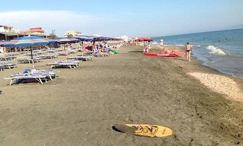 sole e sabbia con vista Palmarola