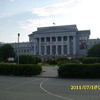 Находится в здании Уральского федерального университета