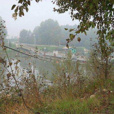 Ponte barche Torre D'Oglio