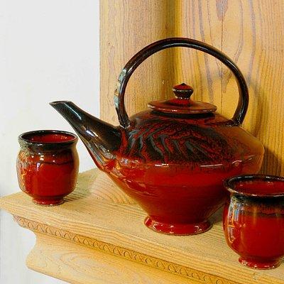 Tea for two/Oxblood glaze