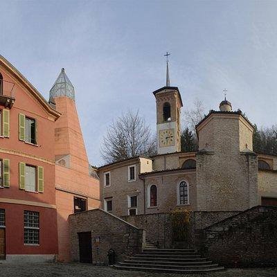 Il complesso medioevale della Fondazione Cesare Pavese