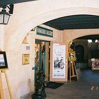 Entrance to Chris Navarro Gallery