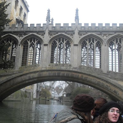 The best way to see the Bridge of Sighs