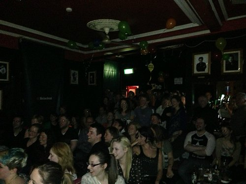 Another packed house at The Comedy Cellar