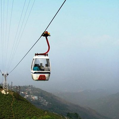 Ropeway Cabin... going up to Singamari