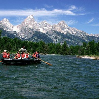 Barker-Ewing Float in Grand Teton National Park