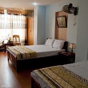 room at Duc Tuan hotel