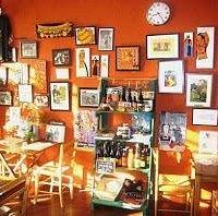 Intérieur restaurant Ty Billig quimperlé