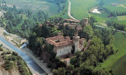 Vista aerea del Borgo