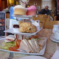 our afternoon tea for two at the Abbey Mill shop tea rooms