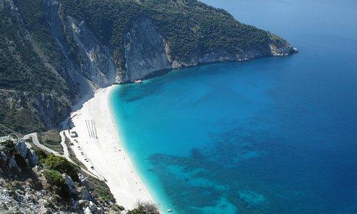 the nicest beach on the island