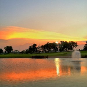 Royale Golf Course in Sunset