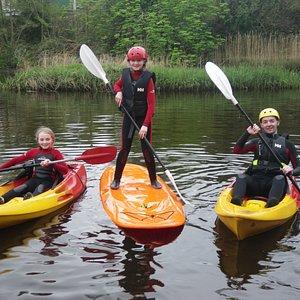 Kayaking River Lahinch