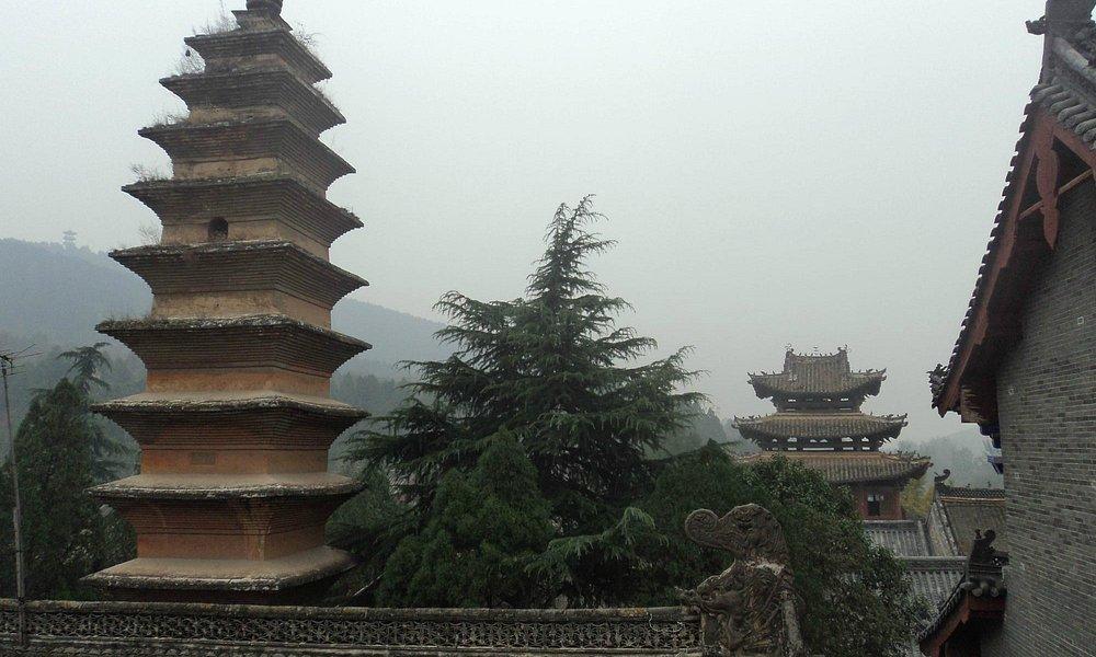 Quietly impressive pagoda in the complex