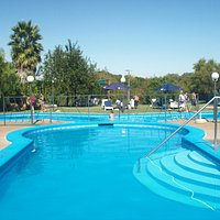 Vista de piscinas