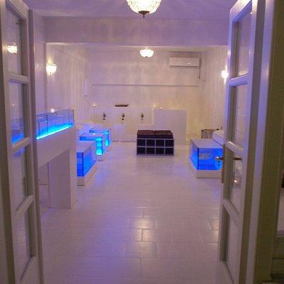 fish spa entrance