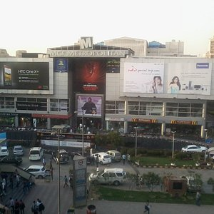 MG Metropolitan : View From MG Road Metro