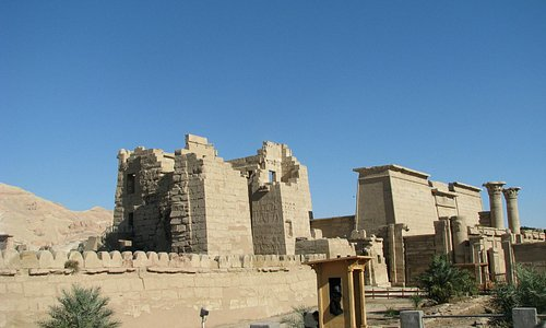 Entrance to the Temple complex in Medinet Habu