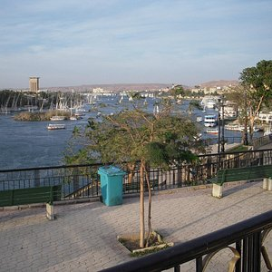 Feryal Garden - Aswan view