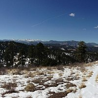 View from the peak of the Meadow Loop Trail
