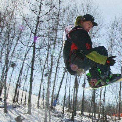 Snowboarding in Brainerd