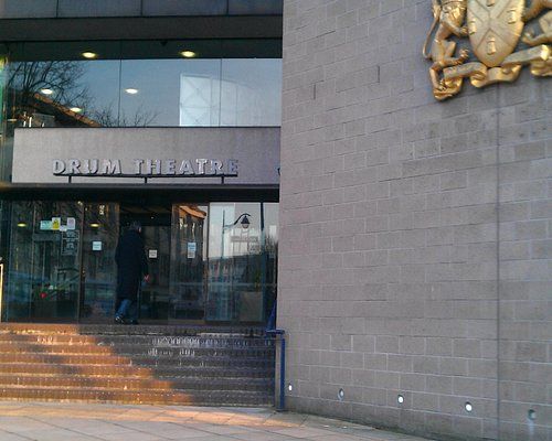 Entrance to Drum Theatre