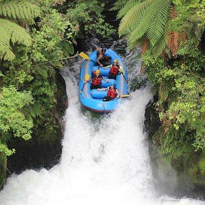 Rafting Adventure, Kaituna River, Rotorua, New Zealand