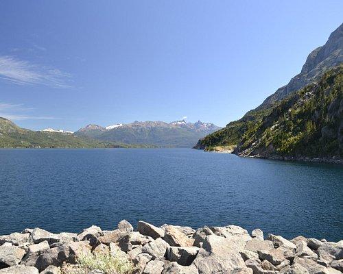 vista al lago Futaleufu