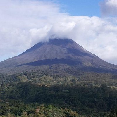 Arenal Volcano afternoon view