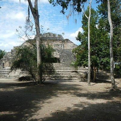 Chocoba, ancient pyramid.