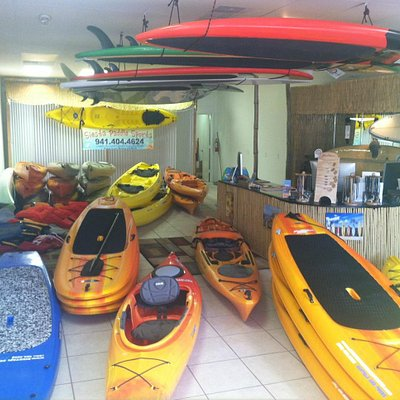 Siesta Paddle Sports Rental Location - we have exactly what you need!