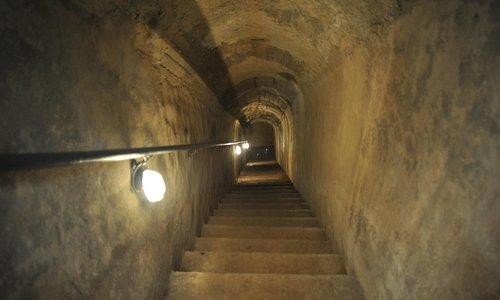 Rampa d'accesso al rifugio antiaereo del carcere le Nuove di Torino