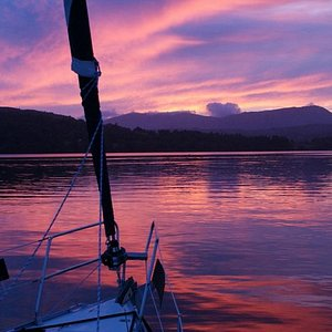 Evening sunset cruises