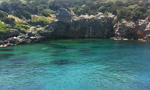 la stupendo mare dell'isola di Giannutri