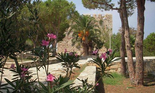 Kusadasi Castle area