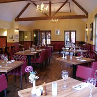 The new look restaurant at the Selkirk Arms Hotel