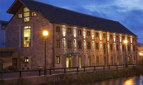 The Tullamore DEW Visitor Centre on the banks of the Grand Canal